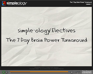 Quick Start - The 7 Day Brainpower Turnaround Kit